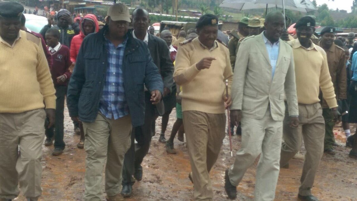 Gov't issues 90 day dusk-to-dawn curfew in Mt. Elgon
