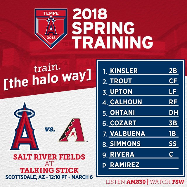 On the road again! #LAASpring   Game Preview: https://t.co/MJVTfUHVr8 https://t.co/yhXYISt8zR