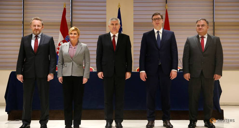 Balkan neighbours push to resolve disputes, but deals elusive