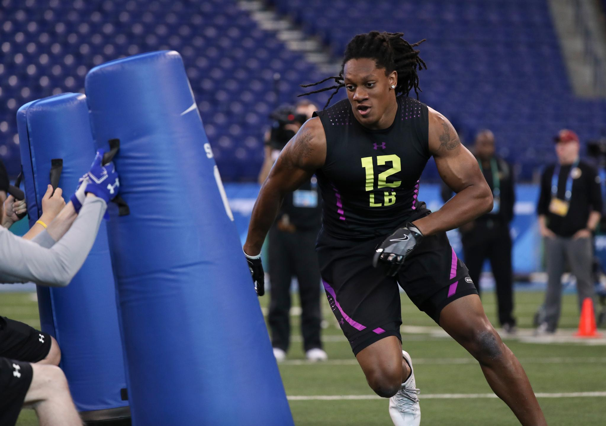 Highlights: Best of linebackers at the #NFLCombine  @nflnetwork ��: https://t.co/m1osuK7qGZ https://t.co/sucDV3iOdo