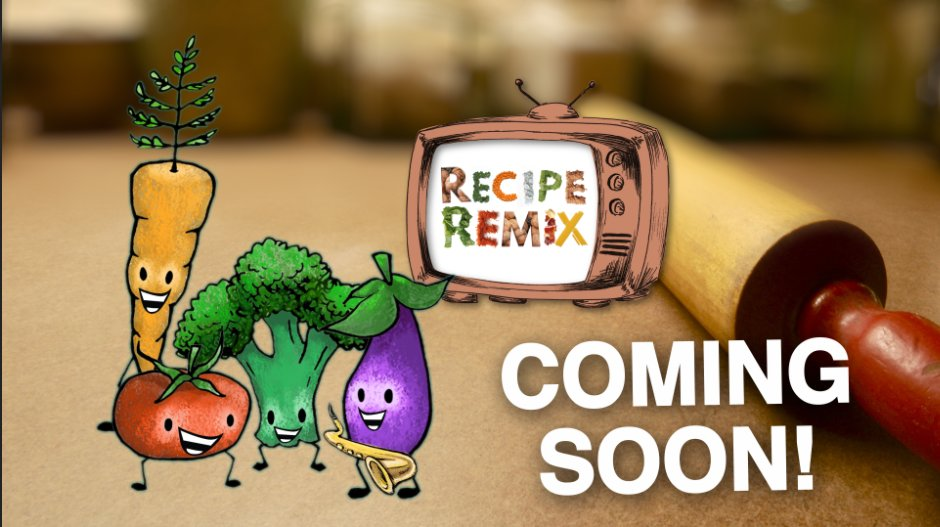 Hot and fresh out the kitchen — our cooking show #RecipeRemix comes out tomorrow on @hitRECord. Bon appétit! https://t.co/DD6vSAWZvU