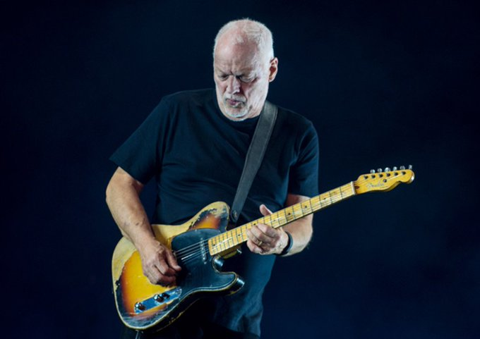Happy Birthday to Pink Floyd\s David Gilmour.