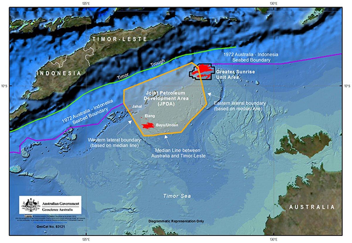 Timor Leste - Australia meterai perjanjian maritim