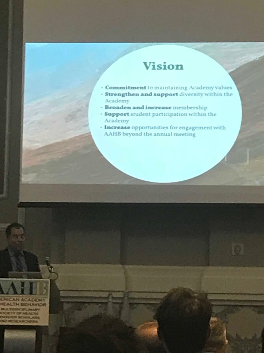 test Twitter Media - Looking forward to the leadership of Dr. Mark Reed! #aahb2018 thank you for your commitment to prioritizing diversity in AAHB and addressing equity in research https://t.co/VbsL0Vd3rm