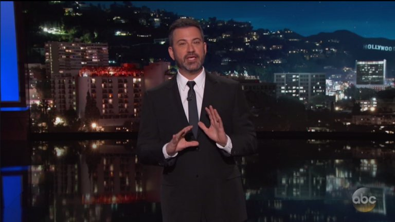 Jimmy Kimmel slams Trump again for Oscars ratings tweet