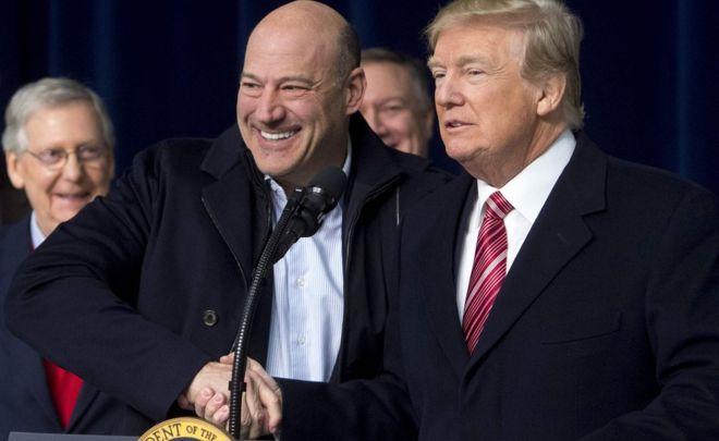 Gary Cohn: Key Trump economic policy adviser resigns