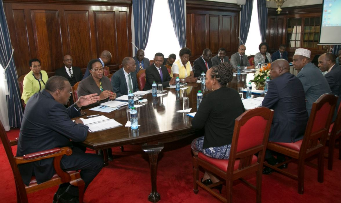 President Kenyatta, governors lay the ground for universal healthcare