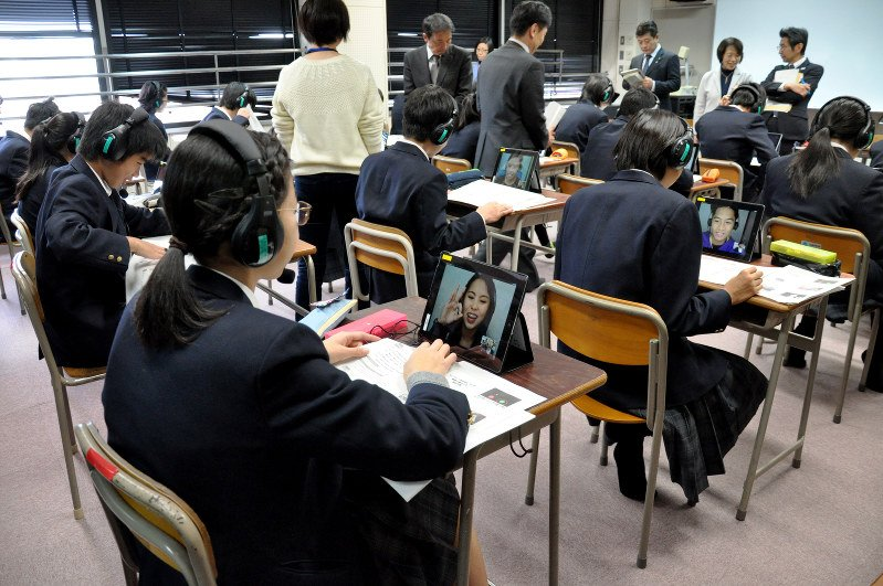 Native speakers in demand as Japanese schools step up English lessons