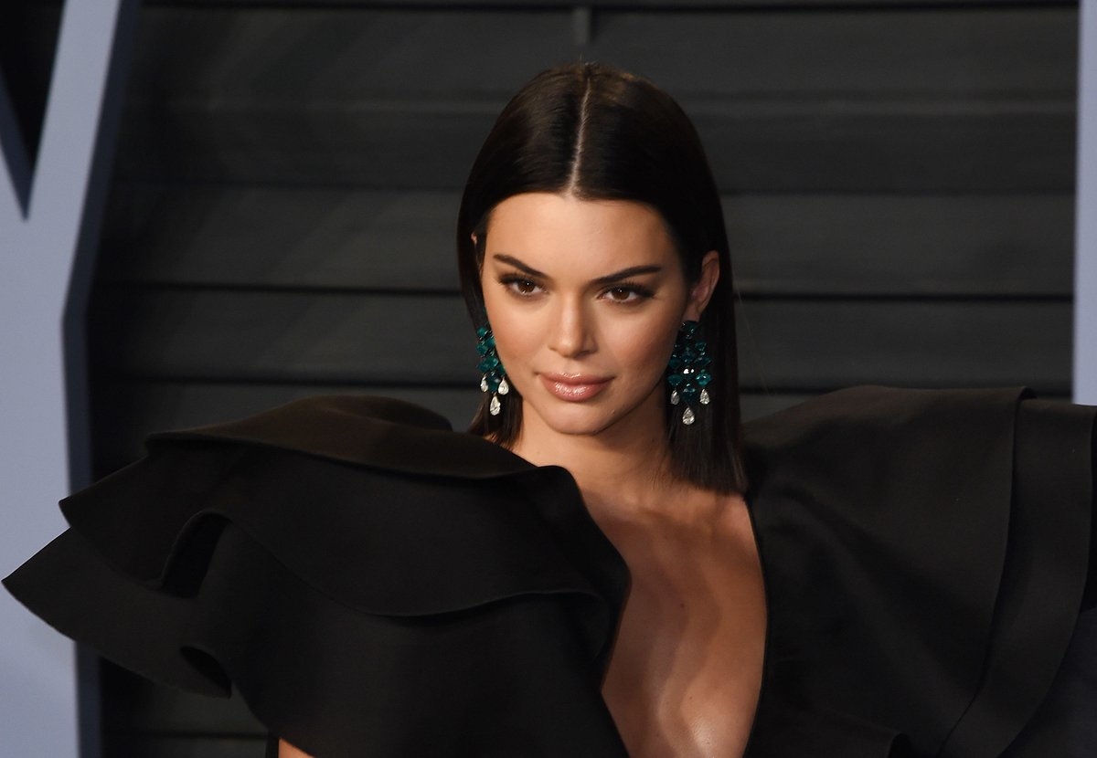 Why Kendall Jenner almost didn't make it to the Oscars party...