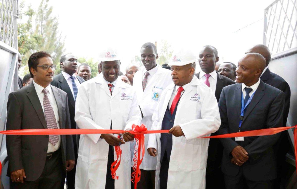 Mama Lucy Kibaki Level 5 Hospital equipped with Equipment worth Sh 500 million