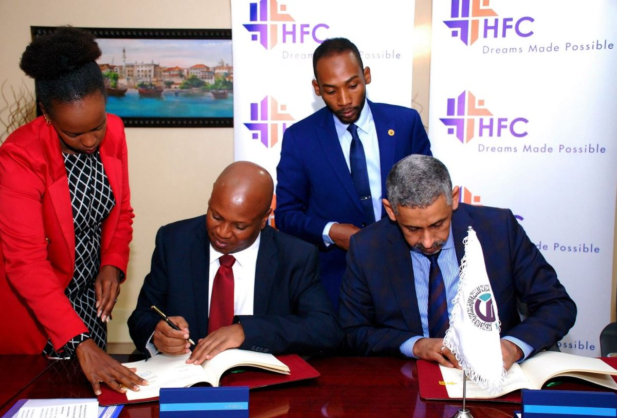 HFC and Arab Bank for Economic Development signs USD15 Million credit facility