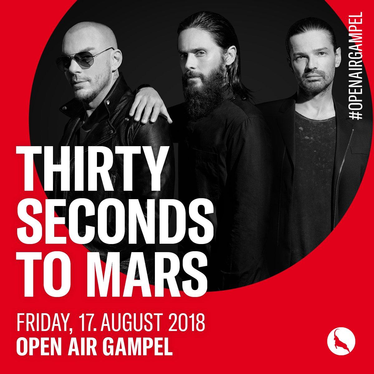 MARS IS COMING AUG 17 // OPEN AIR GAMPEL SWITZERLAND  https://t.co/STL0aru4yV  #OpenAirGampel #MonolithTour https://t.co/012MPwKzDw