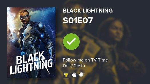 #BlackLightning