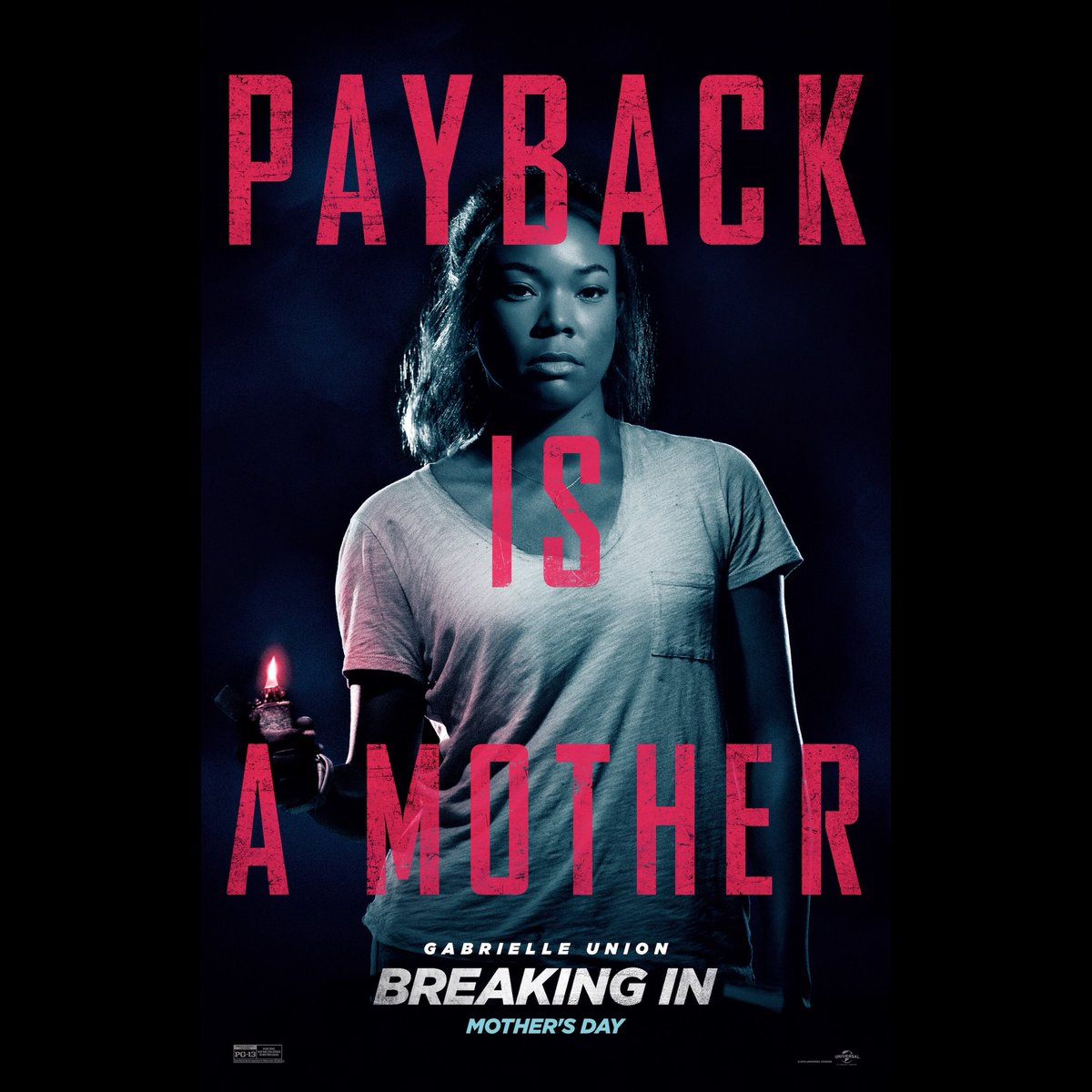 New movie poster for @breakinginmovie ????????See you this Mother's Day. #PaybackIsAMother https://t.co/VE3xxuNexH