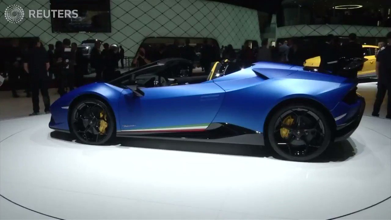 Geneva car show unveils new generation of supercars https://t.co/FCBe4qPgtK https://t.co/iQWIGq22VE