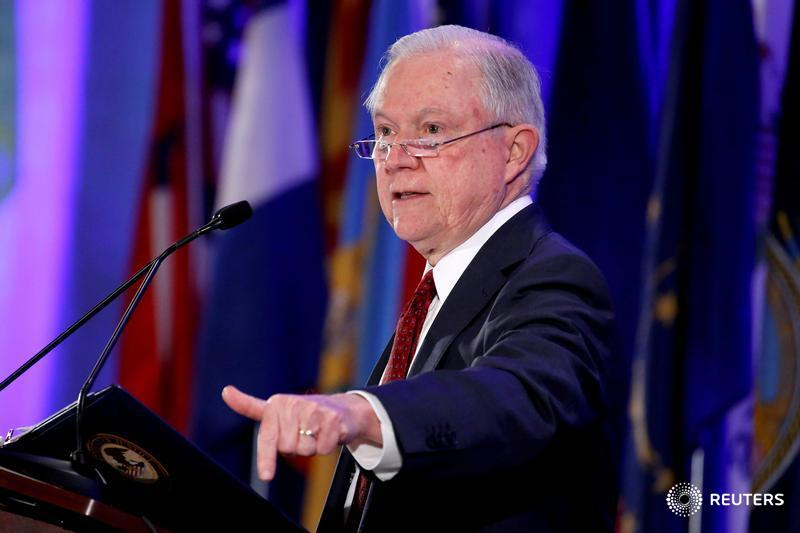 Sessions blasts California after filing U.S. immigration suit reports @SharonBernstein