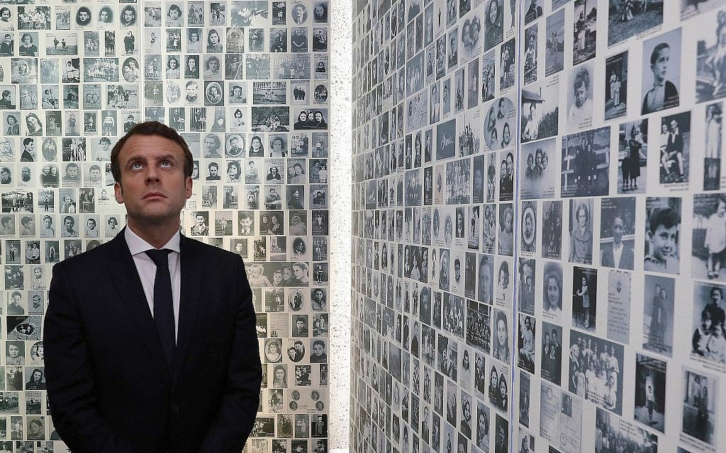 Macron meets French Jewish group amid anti-Semitism concerns