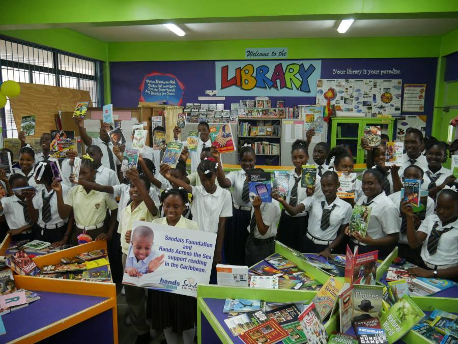Sandals Foundation continues to support students' interest in reading