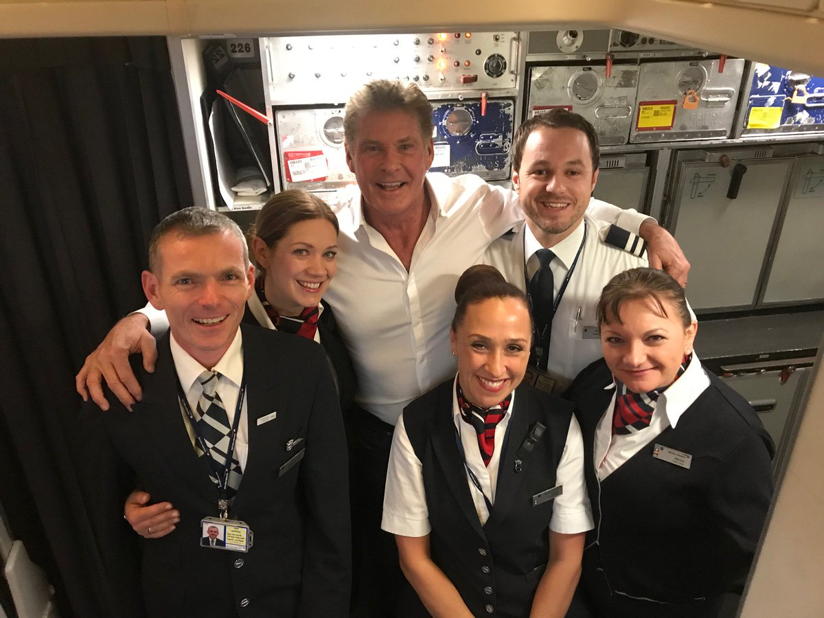 Thanks to the great pilot and staff of BA !!????Hofftastic flight! https://t.co/9HyMrXrkEG