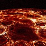 Geometric clusters of cyclones churn over Jupiter's poles, scientists find
