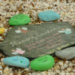 'Could you please just return them?' Rocks stolen from Conway memorial rock garden