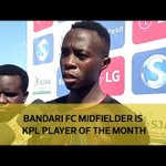 Bandari FC midfielder is KPL player of the month