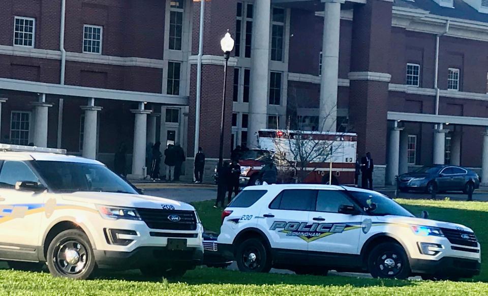Alabama School shooting leaves schoolgirl, 17, dead and teen classmate injured
