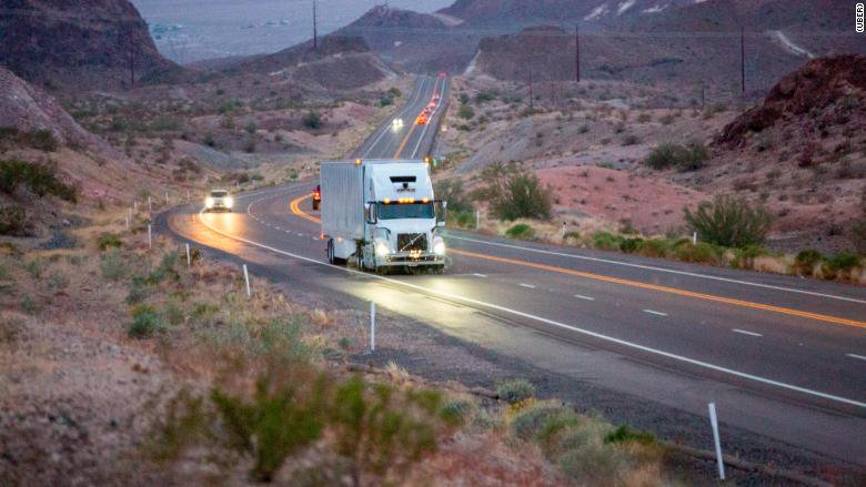 Uber self-driving trucks are now hauling freight