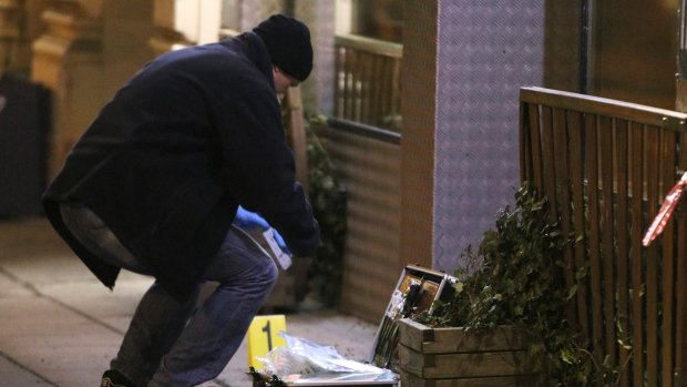 Austrian police detain suspect following Vienna knife attack