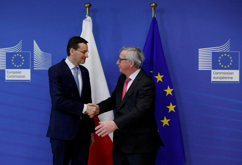 Poland warns EU pressure over legal reforms could backfire