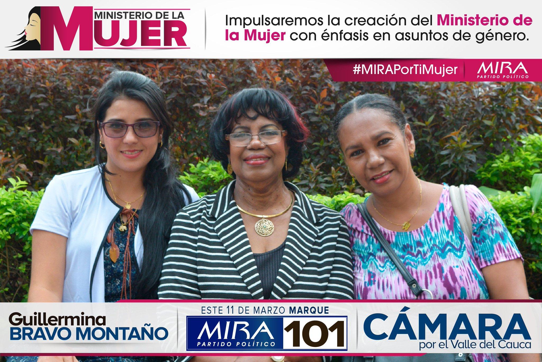 Impulsaremos la creación del Ministerio de la #Mujer con énfasis en asuntos de género. #MIRAPorTiMujer @ExtraCali @elpaiscali @Diarioccidente @LaFMCali @Caracol_Cali @NoticieroNoti5 @radiosupercali @lajotaestereo https://t.co/qj1qP3tCBa