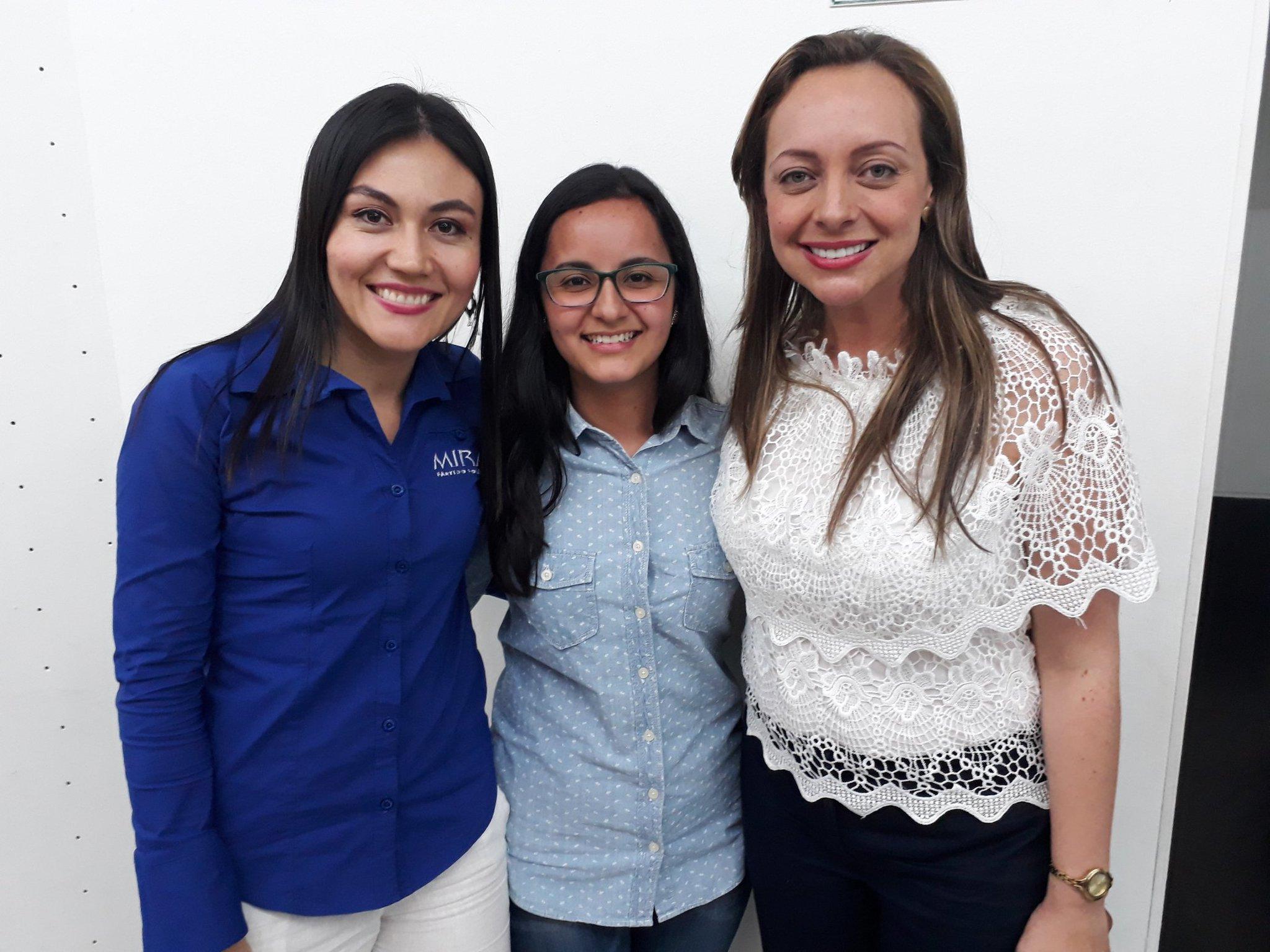 #MiraPorTiMujer  El @MovimientoMIRA confía en las capacidades de la mujer, ejemplo de ello son @AnaPaolaAgudelo y @erikaramosdavi #AquíSíHayConQuien https://t.co/ODEWoFS6n0
