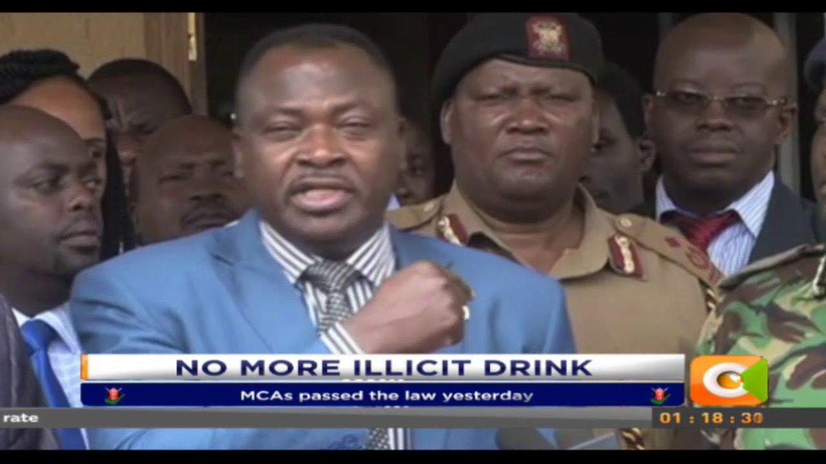 Kiambu bans illicit brew in the county
