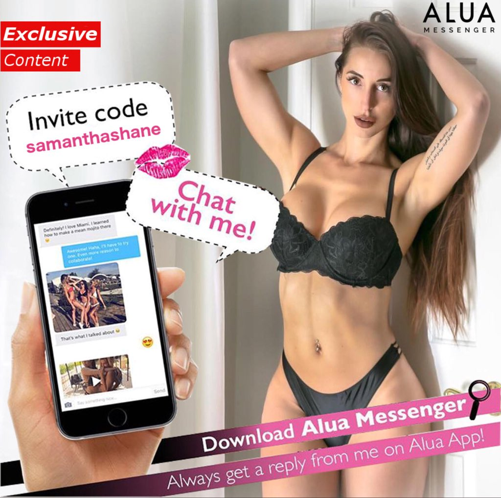 Come chat with me on the new Alua messenger MPyLG2hKze