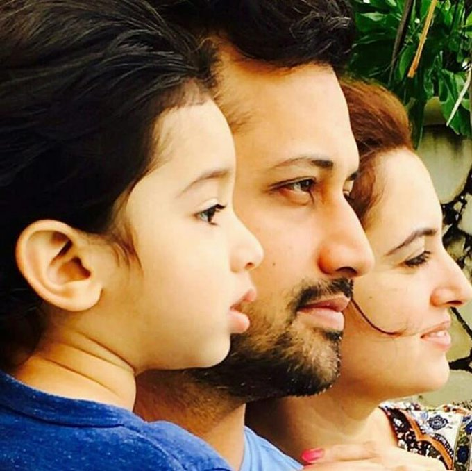 Happy Birthday to the future Rockstar Ahad Atif Aslam May Allah Bless you always Ameen