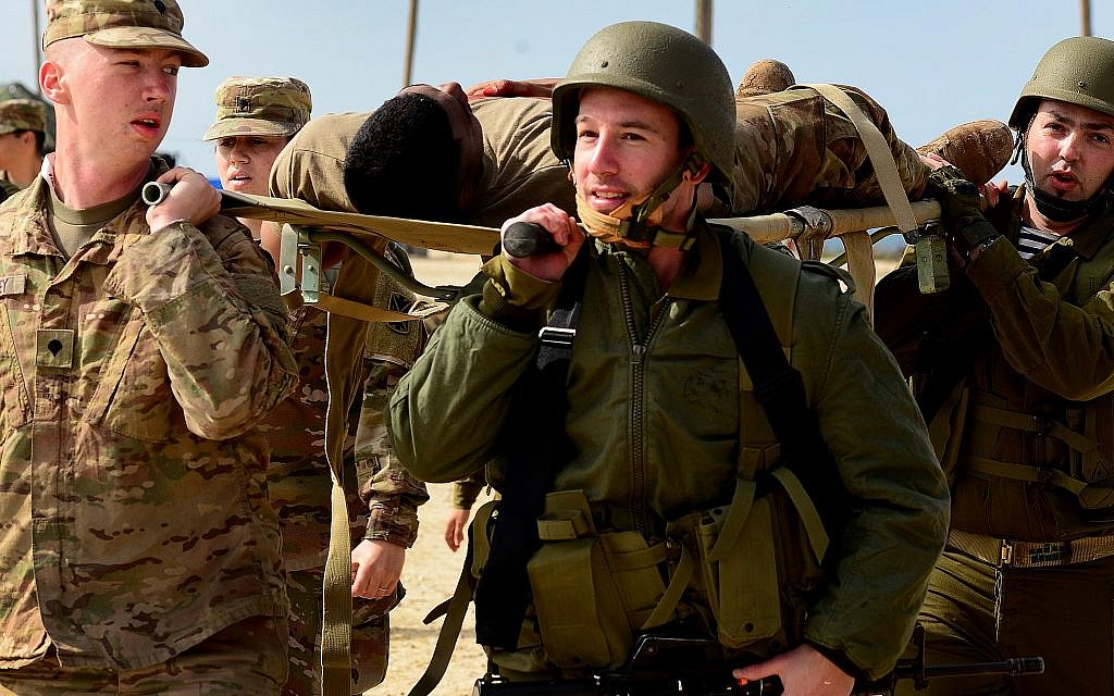 US, IDF troops train to protect Israel from ballistic missiles together