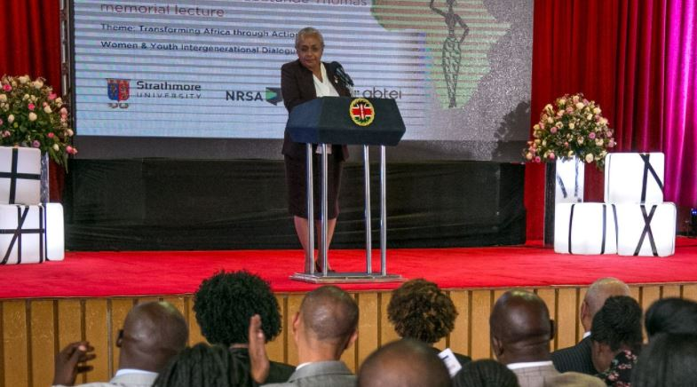 First Lady roots for women and youth empowerment