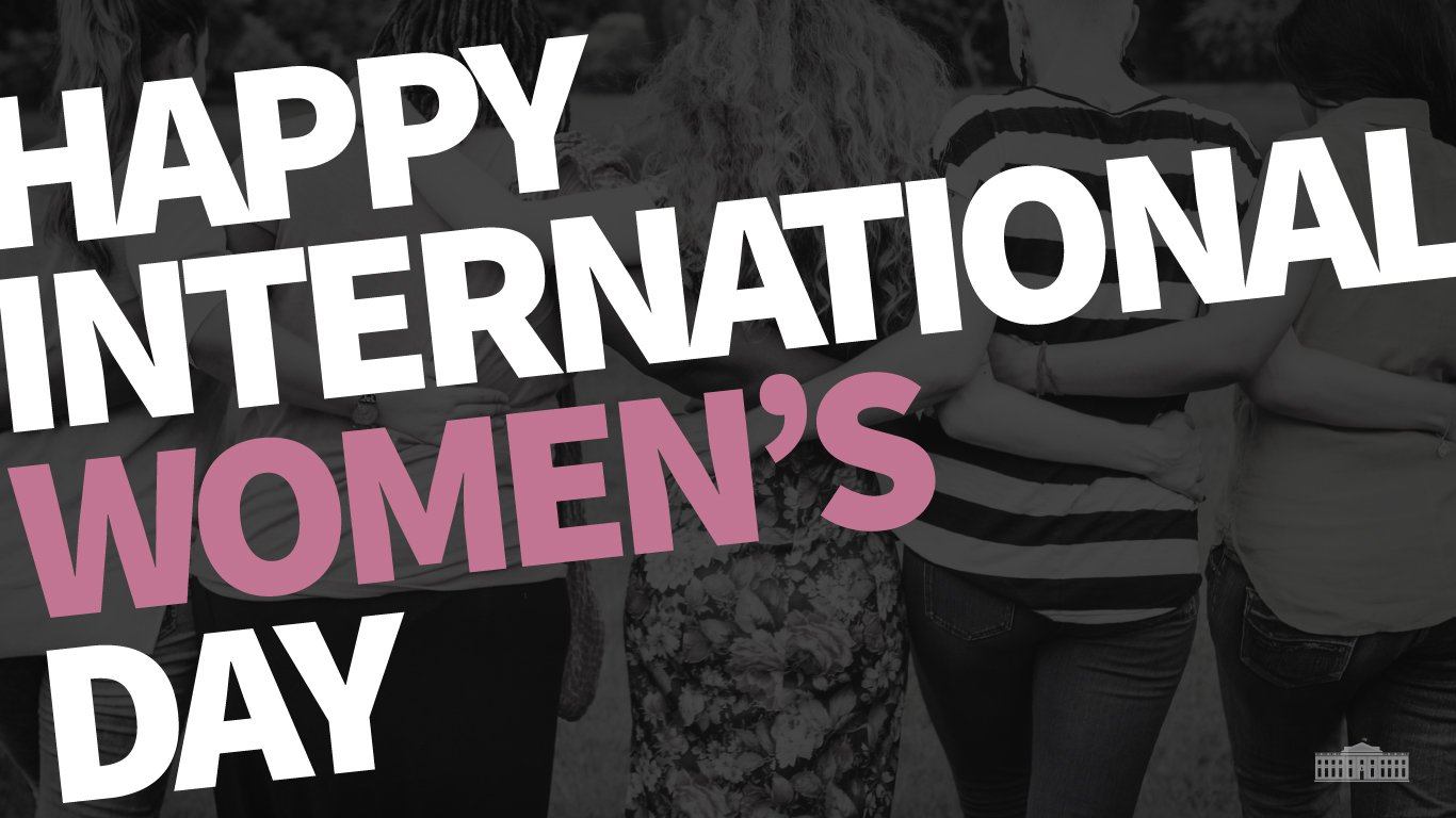 Happy #InternationalWomensDay! Today we recognize, honor, and celebrate women around the world. https://t.co/gsONDiXYO5