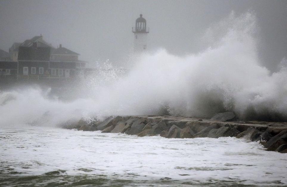 R.I. coast spared storm damage