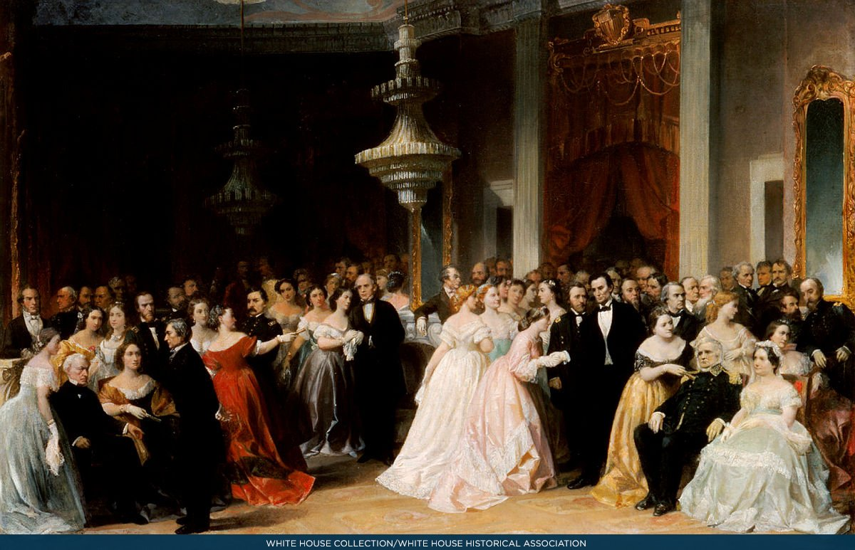 Guests Cheered When Ulysses S Grant Came To The Lincolns White House Reception On