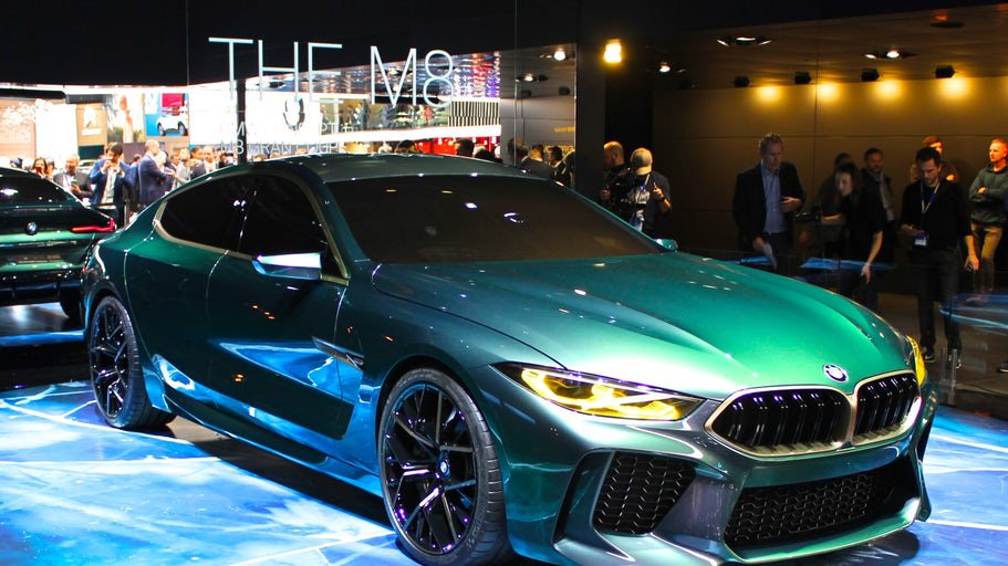 BMW debuts Concept M8 Gran Coupe to tease the future