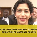 US doctors in West pokot to ensure reduction of maternal deaths