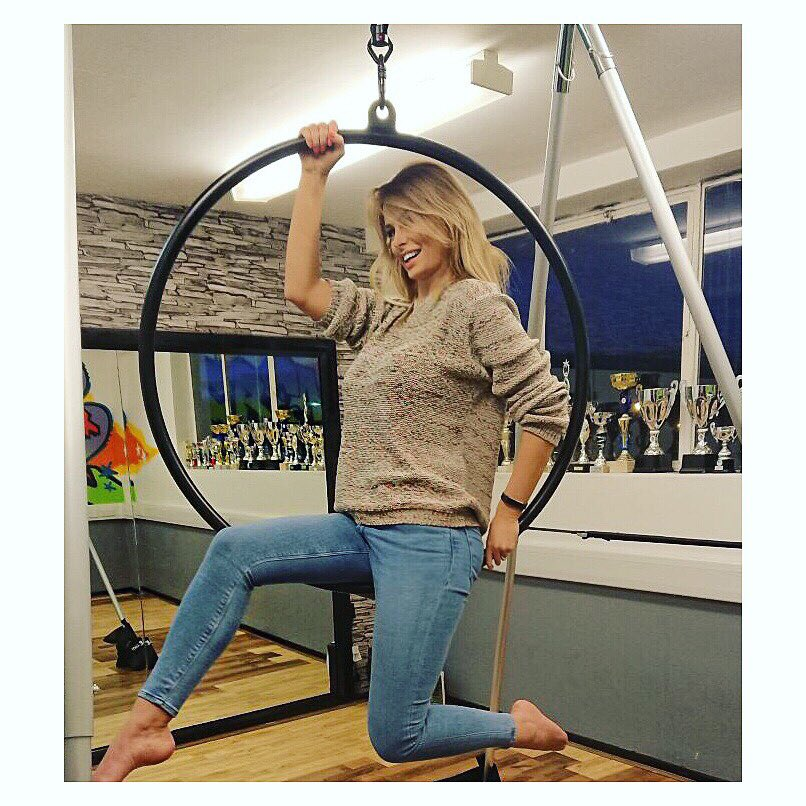 Available for hire at an #AerialHoop near you! ???????? @FreakDanceUK ???? https://t.co/5UoXx8reJU