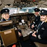 The Largest All-female Flight Crew in UK History Flew This International Women's Day Flight