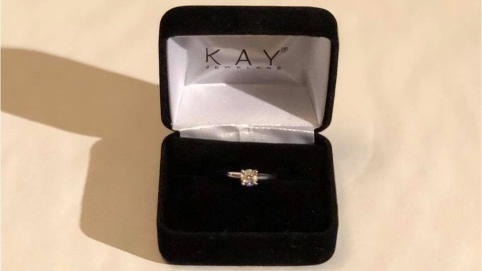 Brokenhearted man looking to give away engagement ring in online contest