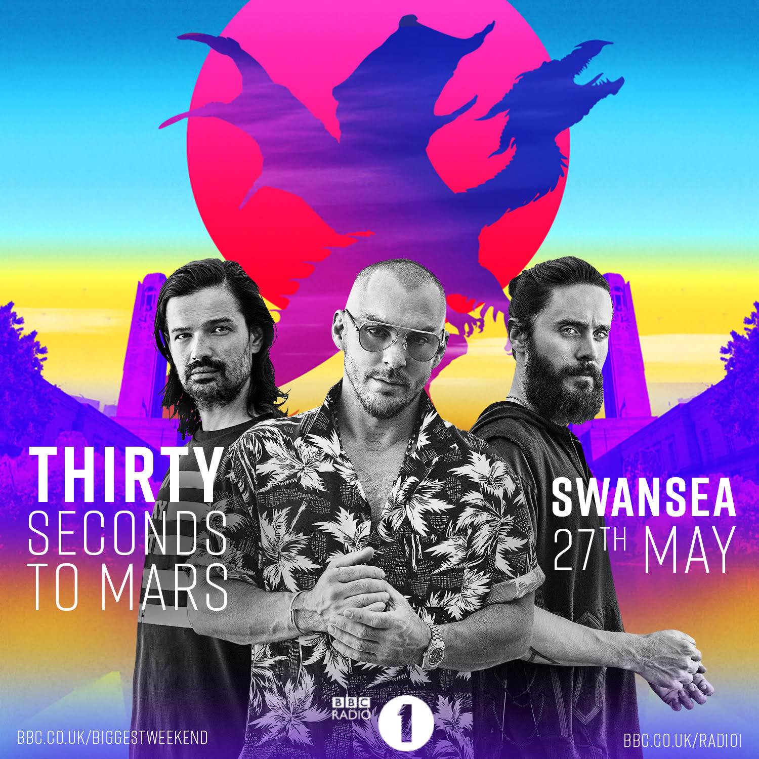 MARS IS COMING MAY 27 // @BBCR1 #BiggestWeekend SWANSEA  https://t.co/cZdcg9vy1n  #MonolithTour https://t.co/hMYeRICEJC