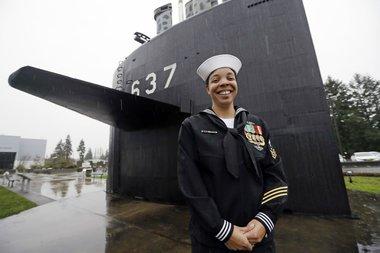 Navy hits major milestone for women in submarines