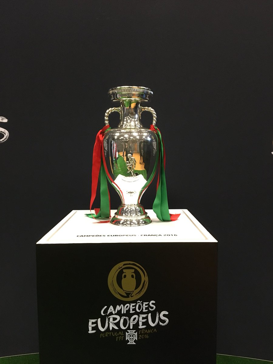 RT @selecaoportugal: A taca já está na Suíça! #ConquistaOSonho https://t.co/5u4JdvnjBF