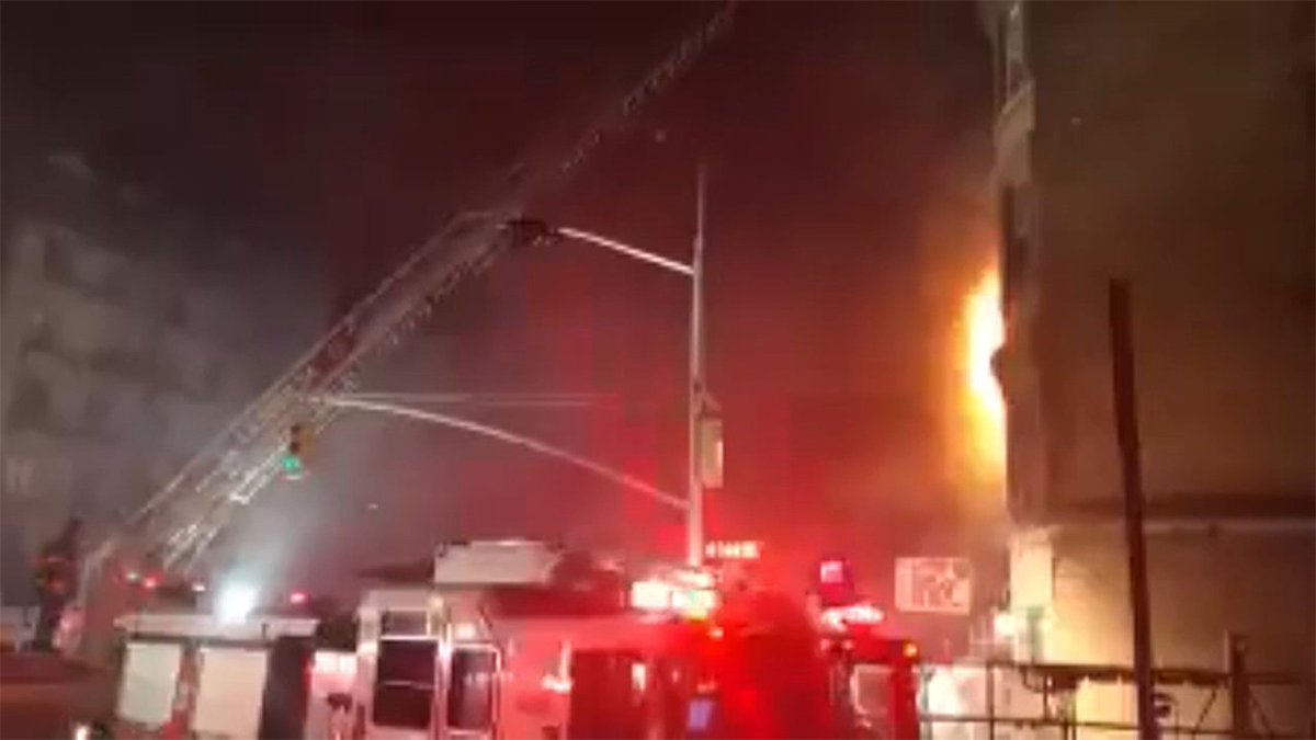 New York City firefighter killed in fire on set of Ed Norton movie