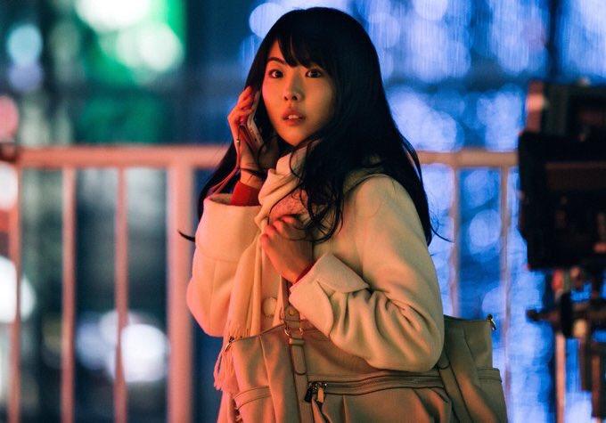 福田麻由子さんのランジェリー姿